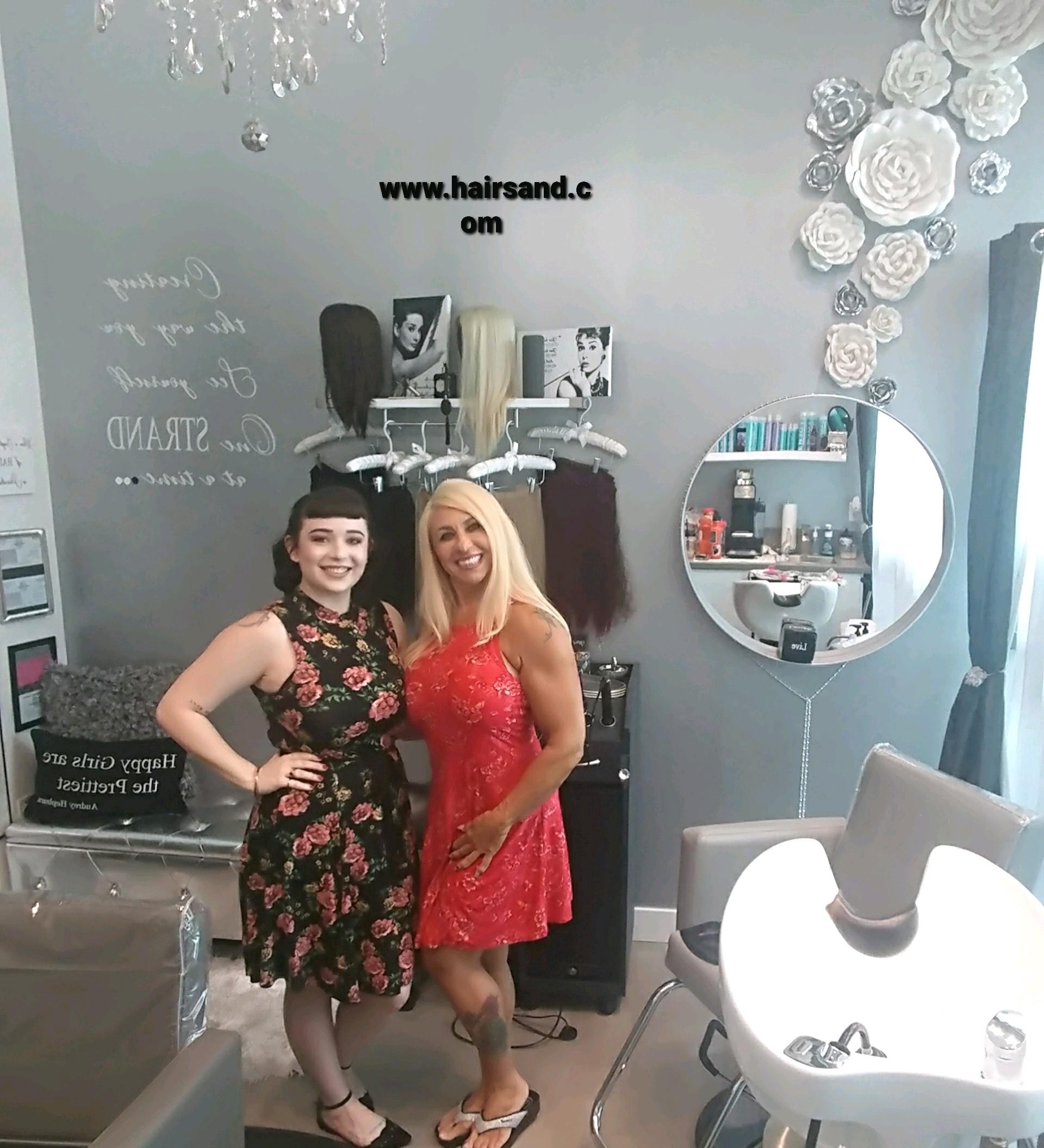 Sandie DuBois hair extension expert