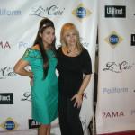 La Fashion Week  Jazmin Whitley- Li Cari and Sand on  red carpet